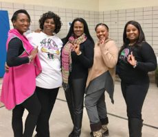 110th Founders' Day Sisterly Relations Stroll Practice